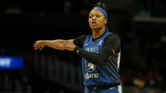 All-Star Guard Odyssey Sims Joined The Lynx In The WNBA's Bubble