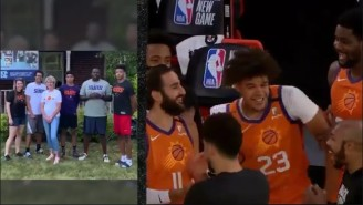The Suns Surprised Players By Having Their Families Do Their Intros And It Was Adorable