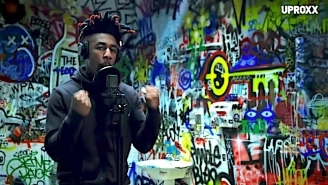 Dax Delivers An Uplifting Performance Of 'Black Lives Matter' For 'UPROXX Sessions'