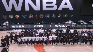 The WNBA Joined The NBA In Sitting Out Wednesday's Games As Protest