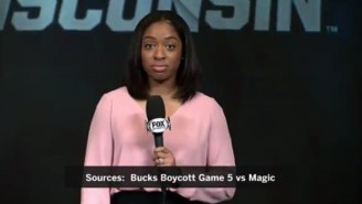 Bucks Reporter Zora Stephenson Gave A Powerful Message About Why This Strike Came Together