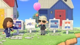 The Biden Campaign Launched Lawn Signs On 'Animal Crossing'