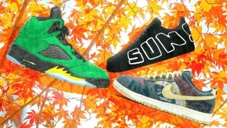 SNX DLX: Featuring The Air Jordan 5 Apple Green, A Cactus Plant Flea Market Air Force 1, And New Palace