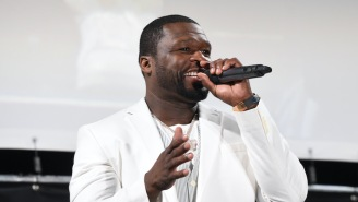 50 Cent Said He'd Be Down To Fight Floyd Mayweather But Doesn't Think He Could 'Make Weight'