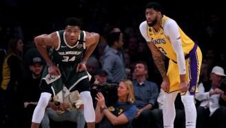 Anthony Davis And Giannis Antetokounmpo Headline The NBA's All-Defensive Teams