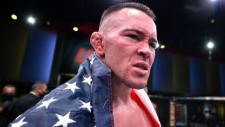 Colby Covington Finished Tyron Woodley In The Fifth Round Of UFC Fight Night