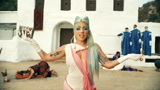 Lady Gaga's Surreal '911' Video Is A Wild Pastiche Of Movie Tropes And Medieval Medicine