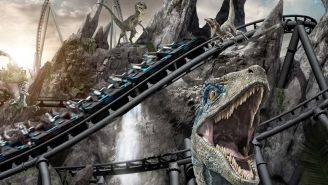 Universal's 'Jurassic World VelociCoaster' Looks Scarier Than Being Chased By Actual Raptors