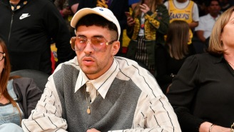 Bad Bunny Has Landed Another Acting Role, This Time In The Brad Pitt Movie 'Bullet Train'