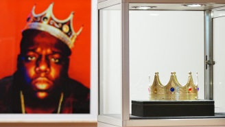 Biggie's 'King of New York' Crown Sold For Almost Half A Million Dollars At A Recent Auction