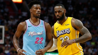 Jimmy Butler Says The Heat Are 'Not The Underdogs' Against The Lakers