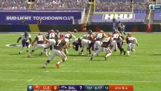 The Browns Ran A Disastrous Fake Punt On Their Own 30 That Ended In A Fumble