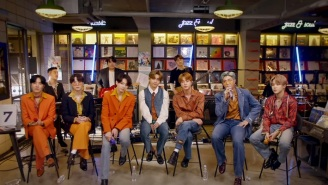 BTS Take To A Record Store For Their Lively NPR Tiny Desk Performance