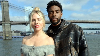 Sienna Miller Says That Chadwick Boseman Took A Pay Cut To Boost Her '21 Bridges' Salary