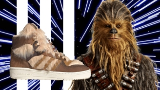 Adidas Continues Its Star Wars Sneaker Line With The Chewbacca Rivalry Hi, Its Most Insane Design Yet