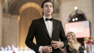 'Succession' Star Nicholas Braun Will Hit You With His Car, But Only In A 'Sexy Way'