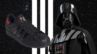 Adidas Is Dropping A Darth Vader Sneaker To Celebrate The 40th Anniversary Of 'Empire Strikes Back'