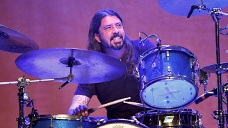 Dave Grohl Explains Why It's 'Practically Impossible' To Drum And Sing At The Same Time