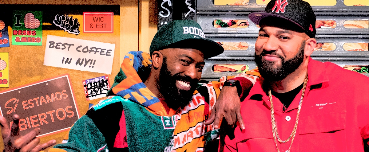 Desus & Mero On Their New Book, How They'd Moderate A Presidential Debate, And The Despair Of Being A Knicks Fan