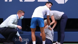 Novak Djokovic Was Disqualified From The U.S. Open For Hitting A Lineswoman With A Ball