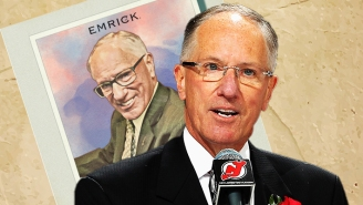 Doc Emrick Talks Broadcasting Hockey Remotely And Getting His Own Baseball Card
