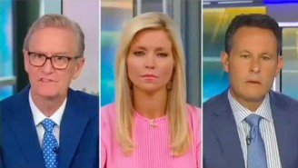 Steve Doocy Went Rogue And Pushed Back At Trump's Claim That He'll Be Calling Into 'Fox & Friends' 'Every Week'