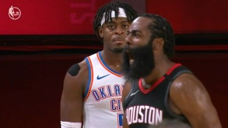 James Harden Sealed A Rockets Game 7 Win With A Block Of Luguentz Dort