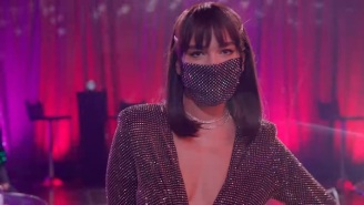 Dua Lipa Has 'New Rules' For Pandemic Dating In A Parody With James Corden