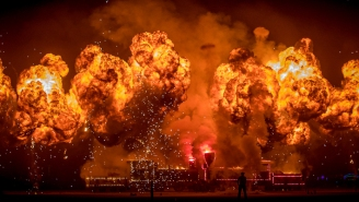 Burning Man Photographer Jane Hu Talks About This Year's Digital Event And Shares Photos Of Past Burns