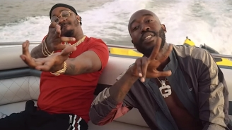 Freddie Gibbs And Benny The Butcher Kick Back On A Boat In The 'Frank Lucas' Video