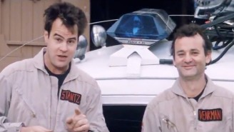 Bill Murray Struggled To Keep It Together During This Hilarious Classic 'Ghostbusters' Promotional Video