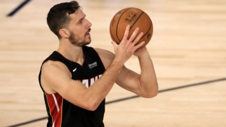 Heat Guard Goran Dragic Is Active For Game 6 Of The NBA Finals