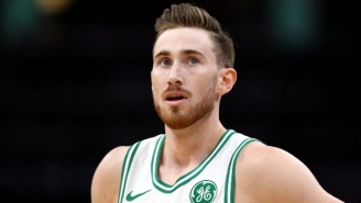 The Knicks Have Reportedly Been 'Aggressive' In Pursuing Gordon Hayward