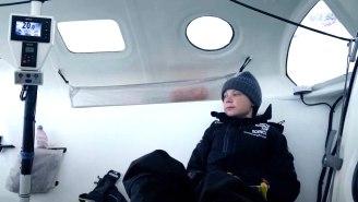 Hulu's 'I Am Greta' Clip Documents Greta Thunberg's Transatlantic Voyage To Fight Climate Change