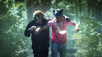 Gunna Borrows Inspiration From 'Bird Box' For His 'Blindfold' Video With Lil Baby