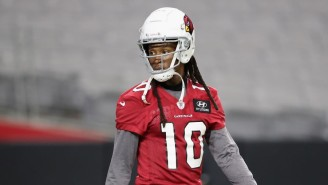 DeAndre Hopkins Tweeted His Thanks For The Cardinals Acquiring Him During The Texans' Thanksgiving Game