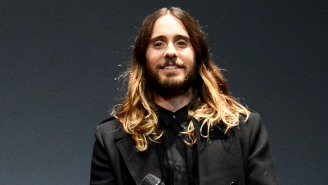 Jared Leto Showed Off His Jacked Physique While Posting A 'Tron Workout' Photo