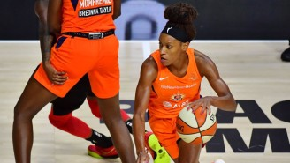 Jasmine Thomas' 31 Points Led The Sun To A Game 1 Blowout Of The Aces