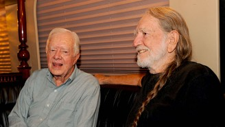 Jimmy Carter Admits One Of His Sons Smoked Weed With Willie Nelson On The White House Roof