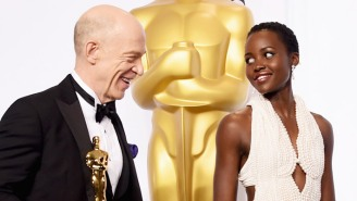 J.K. Simmons Addresses His Awkward Head Bump With Lupita Nyong'o At The Oscars