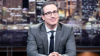 John Oliver Will Make Good On Accepting The (Gross) Honor That's Making His 2020 'Dream' Come True