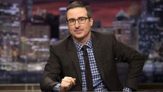 John Oliver Got Misty-Eyed While Voting For The First Time As A U.S. Citizen