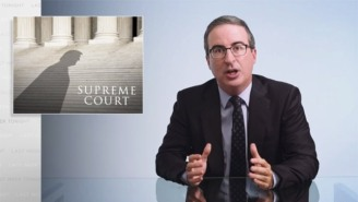 John Oliver Is Sounding The Alarm On Trump Supreme Court Nominee Amy Coney Barrett