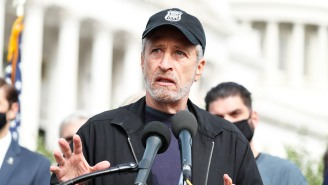 Jon Stewart Is Leading An Impassioned Fight To Help Veterans Affected By Toxic Burn Pits