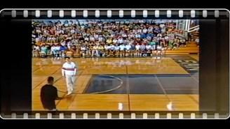 Please Enjoy This Video Of Michael Jordan Playing Basketball Against Elliott Gould