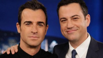 Here's Exactly What Jimmy Kimmel Wrote On John Krasinski And Justin Theroux's Wikipedia Pages