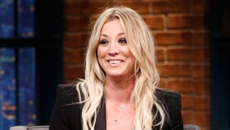 Kaley Cuoco Is Defending Herself Against Anti-Mask Trolls Who Piled Onto Her Instagram Workout Video