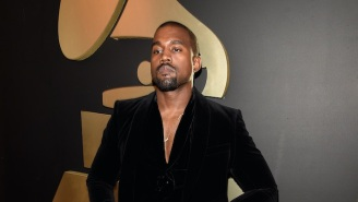 Kanye West Posted A Video Of Himself Peeing On A Grammy Award