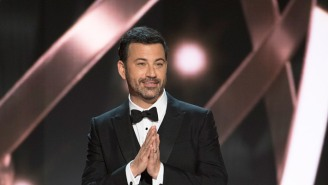 Jimmy Kimmel's Emmys Monologue Was Interrupted By An Ageless Nominee