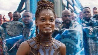 Letitia Wright Shares A Touching Visual Poem To Honor Her 'Black Panther' CO-Star Chadwick Boseman